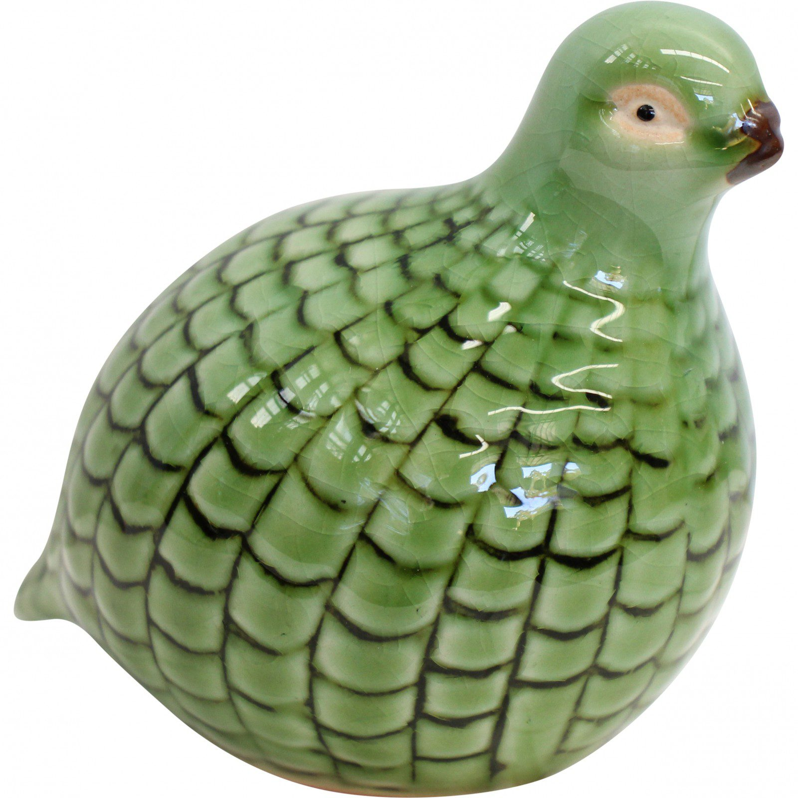 Guinea Quail Petite Ornament