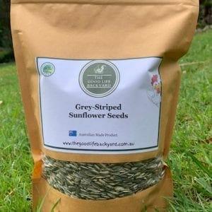 Grey Striped Sunflower Seeds