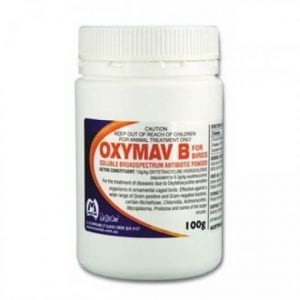 Broad Spectrum Chicken Antibiotic - Oxymav B