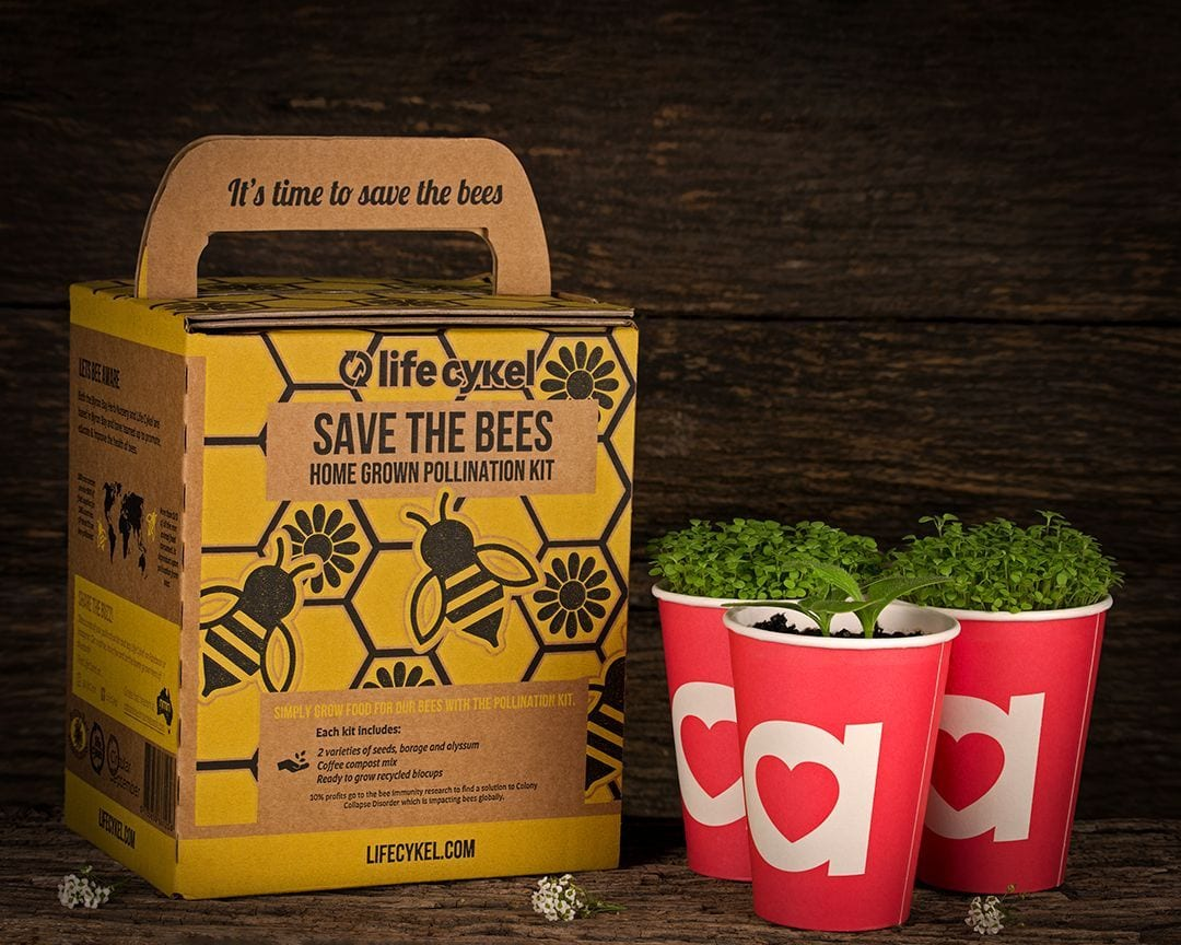 Save the bees seed kit