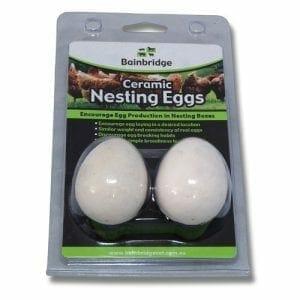Ceramic Nesting Eggs