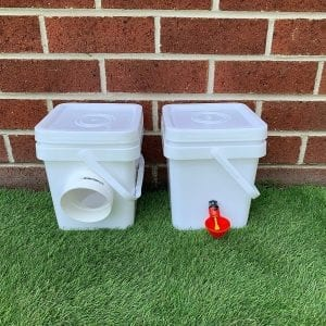 Chicken waterer & feeder mini pack