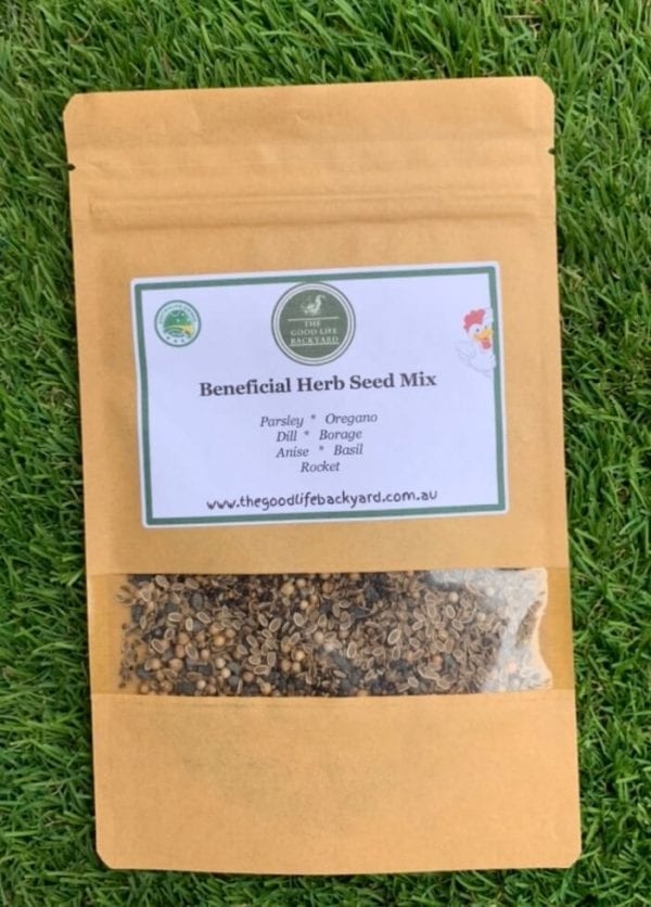 Beneficial herbs for chickens