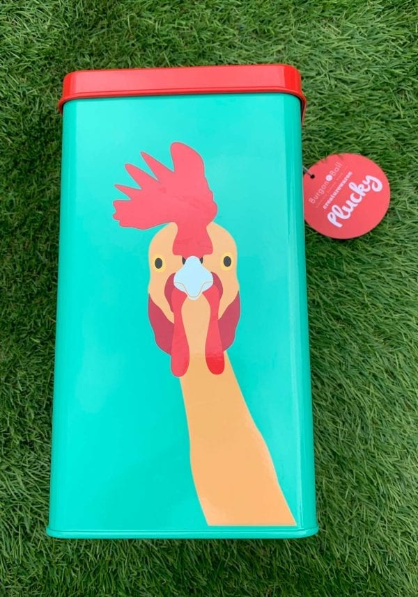 Chicken Feed Storage Tin