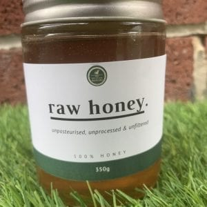 Raw Honey Jar Front