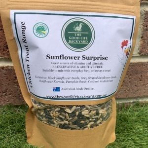 Treats for Chickens Sunflower Surprise
