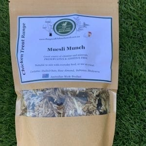 Treat your chickens with muesli munch