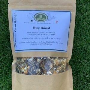 Bug Boost Chicken Treat and Health Supplement