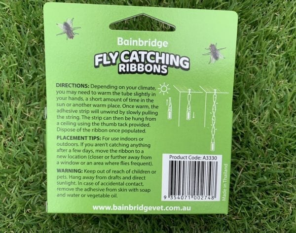 Fly Catching Ribbons