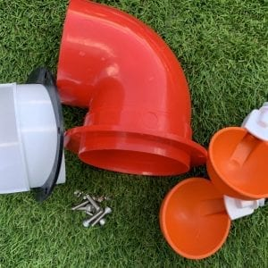 Chicken Feeder and Waterer DIY kit