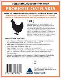 Allfarm Probiotic Oat Flakes Instructions