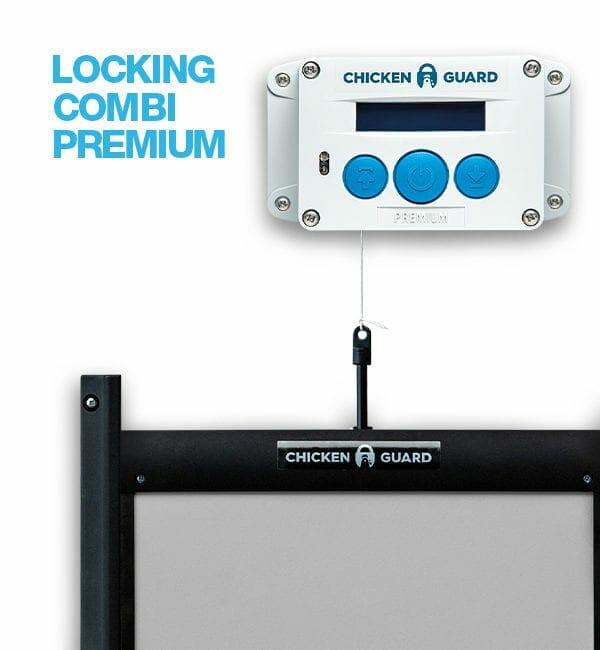 ChickenGuard Locking Combi Premium Door Kit