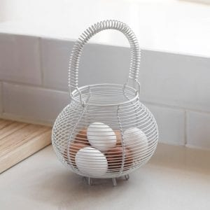 Chicken Egg Basket Carbon