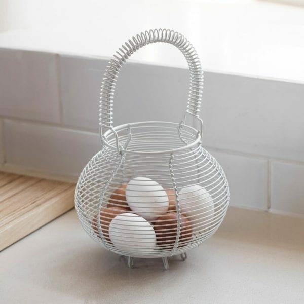 Chicken Egg Basket Carbon