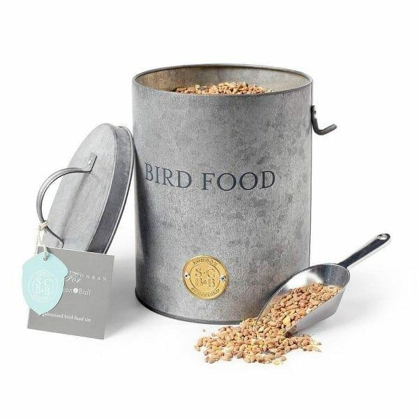 bird food tin